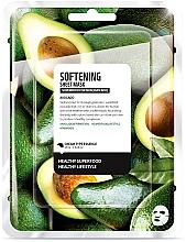 Düfte, Parfümerie und Kosmetik Aufweichende und pflegende Tuchmaske mit Avocado - Superfood For Skin Softening Sheet Mask