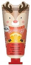Düfte, Parfümerie und Kosmetik Feuchtigkeitsspendende Hand- und Nagelcreme mit Orangenextrakt - Marion Funny Animals Hand Cream