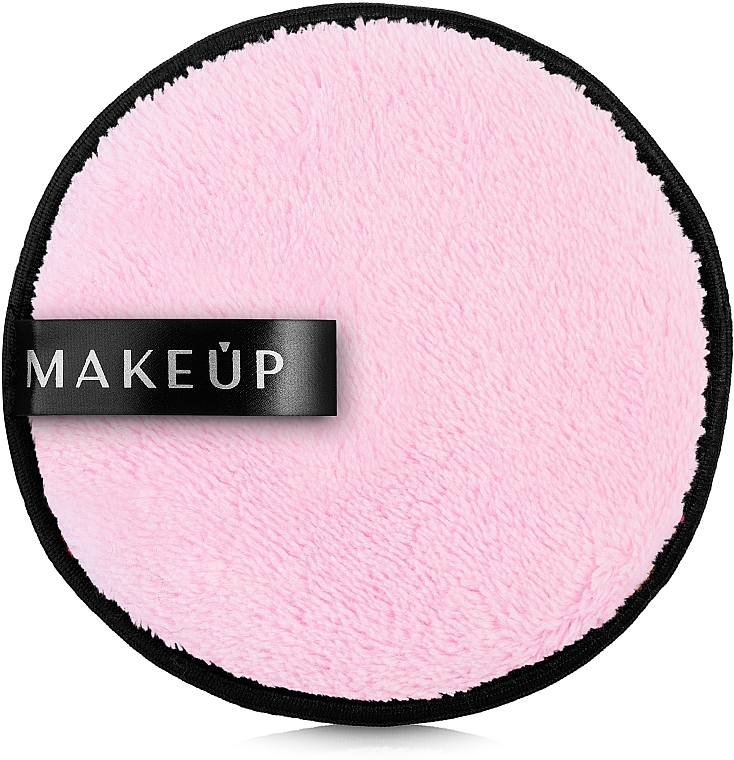 Waschpuff zum Abschminken rosa - MakeUp Makeup Cleansing Sponge Pink