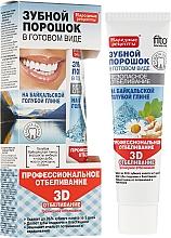 """Düfte, Parfümerie und Kosmetik Zahnweiß-Pulver mit gelbem Ton aus dem Baikalsee """"3D"""" - Fito Kosmetik Volksrezepte"""
