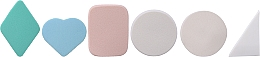 Düfte, Parfümerie und Kosmetik Make-up Schwamm 498982 24 St. - Inter-Vion №3