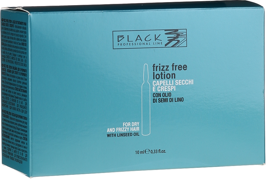 Anti-Frizz Haarampullen mit Leinöl - Black Professional Line Anti-Frizz — Bild N1