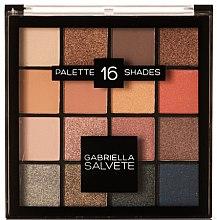 Düfte, Parfümerie und Kosmetik Lidschatten-Palette - Gabriella Salvete Palette 16 Shades
