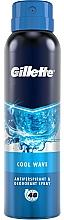 Düfte, Parfümerie und Kosmetik Deospray Antitranspirant - Gillette Cool Wave Antiperpirant Spray