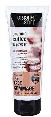 "Gesichtspeeling ""Morgenkaffee"" - Organic Shop Gommage Face"