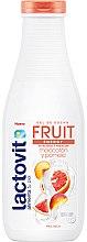 Düfte, Parfümerie und Kosmetik Duschgel Pfirsich und Grapefruit - Lactovit Fruit Shower Gel