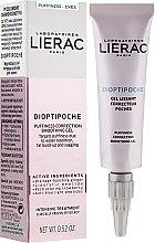 Düfte, Parfümerie und Kosmetik Beruhigendes Augengel - Lierac Dioptipoche Puffiness Correction Smoothing Gel