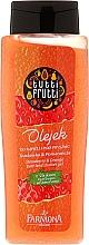 Düfte, Parfümerie und Kosmetik Duschgel mit Orange und Erdbeere - Farmona Tutti Frutti Pomarancza & Truskawka Shower Gel