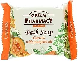 """Düfte, Parfümerie und Kosmetik Seife""""Karotten und Kürbiskernöl"""" - Green Pharmacy"""