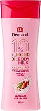 Düfte, Parfümerie und Kosmetik Schützende und feuchtigkeitsspendende Körperlotion - Dermacol Almond Oil Nourishing Body Milk