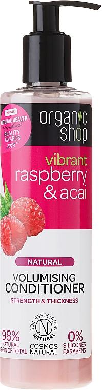 Pflegende Haarspülung mit Himbeeren und Acai-Beeren - Organic Shop Raspberry And Acai Conditioner