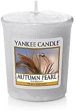 Düfte, Parfümerie und Kosmetik Votivkerze Autumn Pearl - Yankee Candle Autumn Pearl Sampler Votive