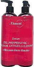 Düfte, Parfümerie und Kosmetik Körperpflegeset - _Element Snail Slime Filtrate (Duschgel 150ml + Körperlotion 150ml)