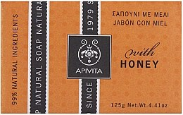 Düfte, Parfümerie und Kosmetik Naturseife mit Honig - Apivita Soap with honey