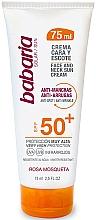 Düfte, Parfümerie und Kosmetik Sonnenschutzcreme für Gesicht und Hals LSF 50 - Babaria Face Sun Cream Spf50