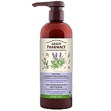 Düfte, Parfümerie und Kosmetik Tief regenerierende und pflegende Conditioner-Maske für schwaches und zu Haarausfall neigendes Haar - Green Pharmacy