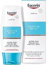 Düfte, Parfümerie und Kosmetik After Sun Creme-Gel für Gesicht und Körper - Eucerin After Sun Creme-Gel for Sensitive Relief