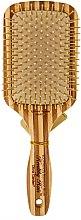 Düfte, Parfümerie und Kosmetik Bambus Paddlebürste für Haar mit Nylonborsten - Olivia Garden Healthy Hair Rectangular Epoxy Eco-Friendly Bamboo Brush