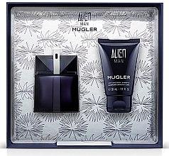Düfte, Parfümerie und Kosmetik Mugler Alien Man Gift Set - Duftset ( Eau de Toilette/50ml+Körpershampoo/50ml)