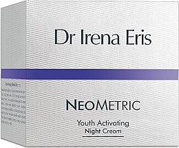 Düfte, Parfümerie und Kosmetik Verjüngende und revitalisierende Nachtcreme - Dr Irena Eris Neometric Youth Activating Night Cream