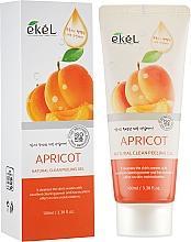 Düfte, Parfümerie und Kosmetik Peeling-Gel für das Gesicht mit Aprikose - Ekel Apricot Natural Clean Peeling Gel