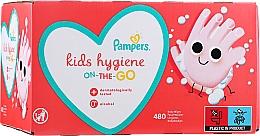 Düfte, Parfümerie und Kosmetik Feuchte Babytücher 12x40 St. - Pampers Kids On The Go