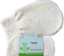 Düfte, Parfümerie und Kosmetik Badehandschuh milchweiß - Lynia