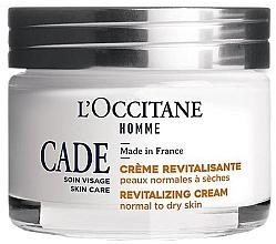 Düfte, Parfümerie und Kosmetik Revitalisierende Gesichtscreme für normale bis trockene Haut mit Bio-Wacholderöl und Bio-Sheabutter - L'Occitane Cade Revitalizing Cream