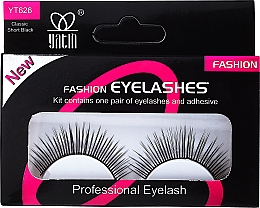 Düfte, Parfümerie und Kosmetik Künstliche Wimpern - Deni Carte Fake Eyelashes Natural Look C4