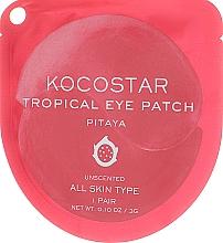 Düfte, Parfümerie und Kosmetik Hydrogel Augenpatches für alle Hauttypen - Kocostar Tropical Eye Patch Pitaya
