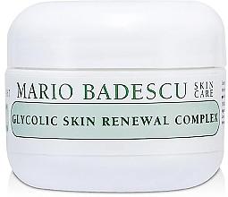 Düfte, Parfümerie und Kosmetik Regenerierende Anti-Aging Gesichtscreme mit Glykolsäure - Mario Badescu Glycolic Skin Renewal Complex