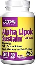 Düfte, Parfümerie und Kosmetik Nahrungsergänzungsmittel Alpha Lipoic Sustain mit Biotin 300 mg - Jarrow Formulas Alpha Lipoic Sustain with Biotin 300 mg