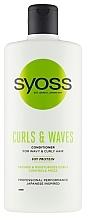 Düfte, Parfümerie und Kosmetik Conditioner für welliges und lockiges Haar mit Sojaprotein - Syoss Curls & Waves Conditioner With Soi Protein