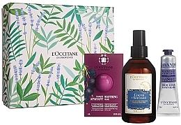 Düfte, Parfümerie und Kosmetik Gesichts- und Handpflegeset - L'Occitane (Gesichtsmaske 6ml + Gesichtsnebel 100ml + Handcreme 30ml)