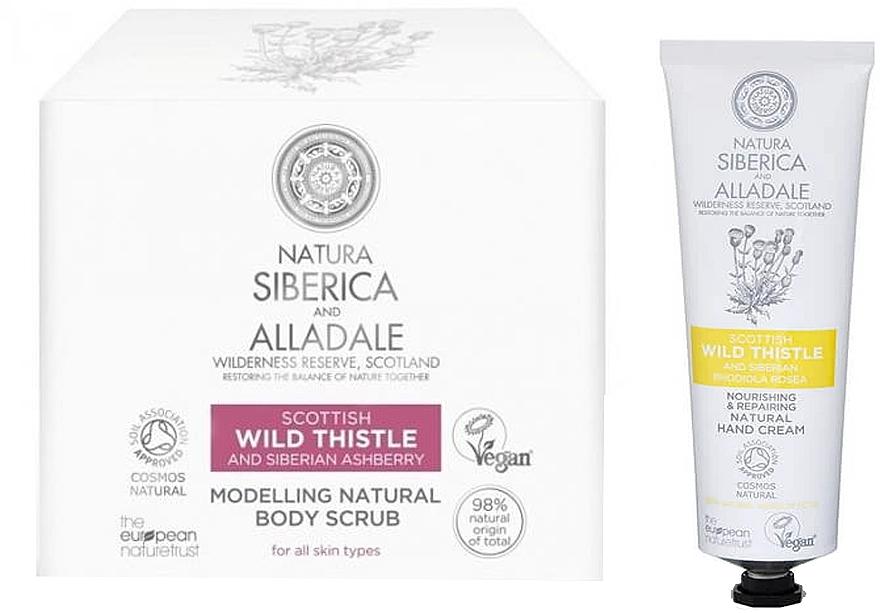 Körperpflegeset - Natura Siberica Alladale (Körperpeeling 370ml + Haarcreme 75ml)