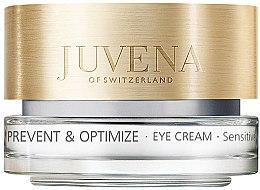 Düfte, Parfümerie und Kosmetik Augenkonturcreme - Juvena Skin Optimize Eye Cream Sensitive