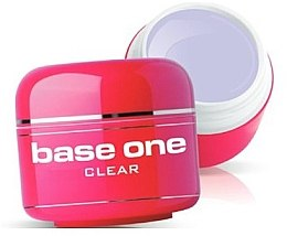 Düfte, Parfümerie und Kosmetik Gel Nagellack transparent - Silcare Base One Clear