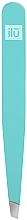 Düfte, Parfümerie und Kosmetik Pinzette schräg hellblau - Ilu