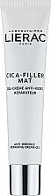 Düfte, Parfümerie und Kosmetik Anti-Falten Gesichtsgelcreme - Lierac Cica-Filler Mat Anti-Wrinkle Repairing Cream-Gel