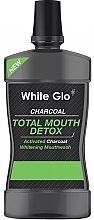 Düfte, Parfümerie und Kosmetik Entgiftende Mundspülung mit Aktivkohle - White Glo Charcoal Total Mouth Detox Mouthwash