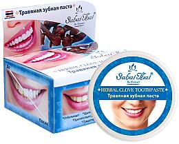 Düfte, Parfümerie und Kosmetik Aufhellende Kräuter-Zahnpasta mit Nelke-Extrakt - Sabai Thai Herbal Clove Toothpaste