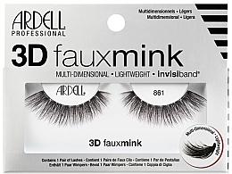Düfte, Parfümerie und Kosmetik Künstliche Wimpern - Ardell 3D Faux Mink 861