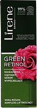 Düfte, Parfümerie und Kosmetik Straffendes Gesichtsserum mit Rosenwasser - Lirene Green Retinol Serum