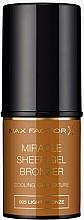 Düfte, Parfümerie und Kosmetik Bronzer Stick - Max Factor Miracle Sheer Gel Bronzer