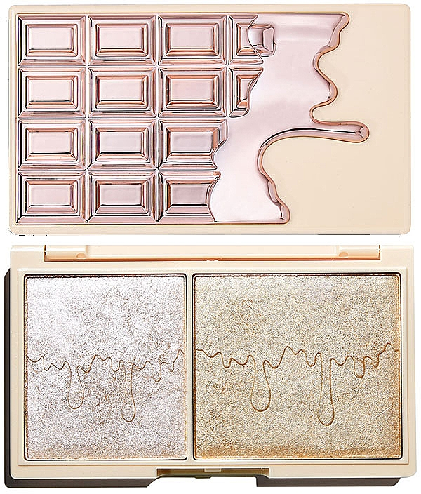 Highlighterpalette - I Heart Revolution Chocolate Rose Gold Glow