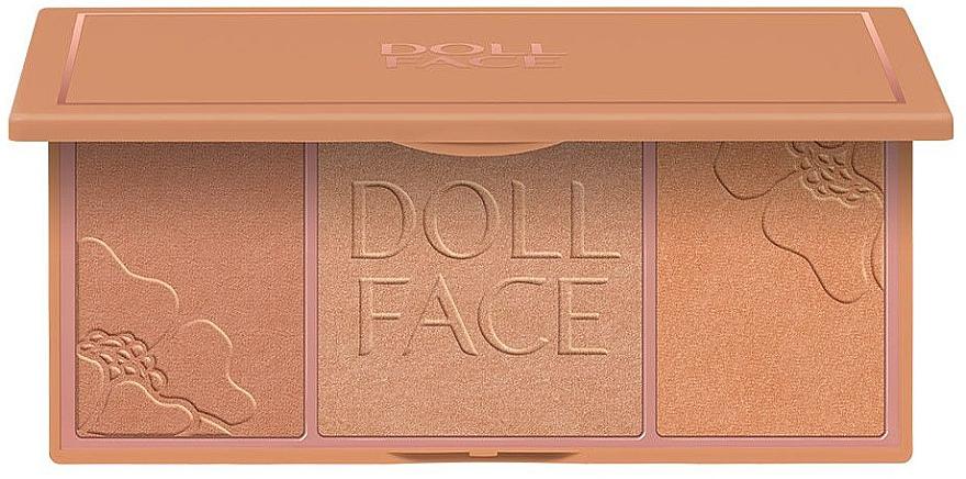 Highlighter Palette - Doll Face Glow Baby Glow Highlighting Palette — Bild N1