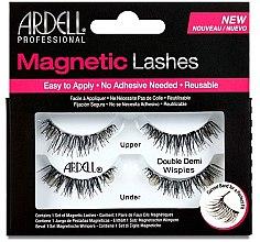 Düfte, Parfümerie und Kosmetik Künstliche Wimpern - Ardell Magnetic Strip Lash Double Demi Wispies