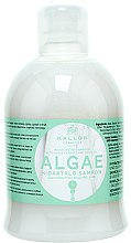 Düfte, Parfümerie und Kosmetik Hydratisierendes Shampoo mit Algenextrakt und Olivenöl - Kallos Cosmetics Algae Moisturizing Shampoo