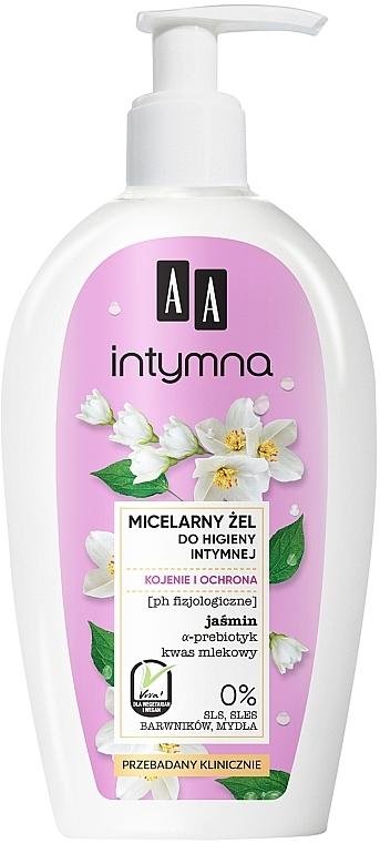 Beruhigendes Mizellengel für die Intimhygiene mit Jasmin - AA Intimate Soothing Micellar Gel