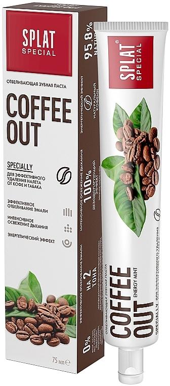 Zahnpasta zur Entfernung der Tee- und Kaffeeflecken - SPLAT Cofee Out